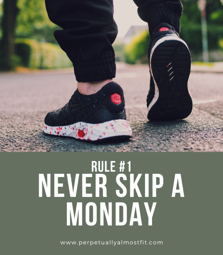 Rule #1 Never Skip a Monday